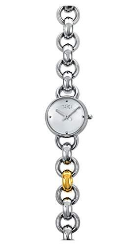 Mango Missinglink Damen-Armbanduhr Swiss Made Analog Quarz Edelstahl A105S4KV