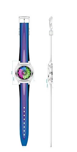 Armbanduhr Unisex Zpin flower III