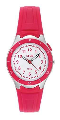 Club Maedchen - Armbanduhr Analog Quarz 10 bar Licht Silikon A47103-14SOA
