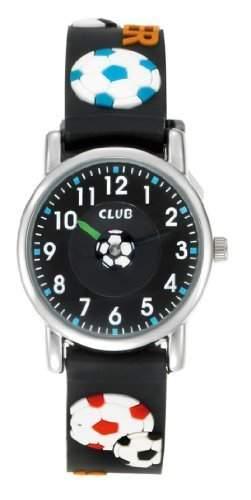 Club Jungen - Armbanduhr Analog Quarz Fussball Silikon A56516S5A