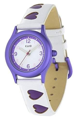Club Maedchen - Armbanduhr Analog Quarz Violett - Weiss A56517PU0A