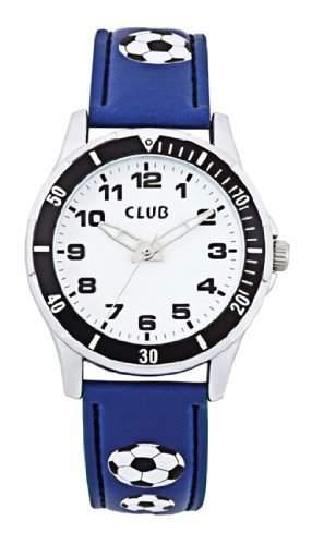 Club Jungen - Armbanduhr Analog Quarz blau Fussball A56522-1S0A