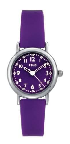 Club Maedchen - Armbanduhr Analog Quarz Silikon Violett A56525S10A