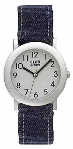 Club Kinderuhr - Armbanduhr Analog Quarz Jeans - Jungenuhr & Maedchenuhr - blau A58836S14A
