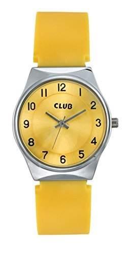 Club Maedchen-Armbanduhr Analog Quarz Silikon A65176S16A