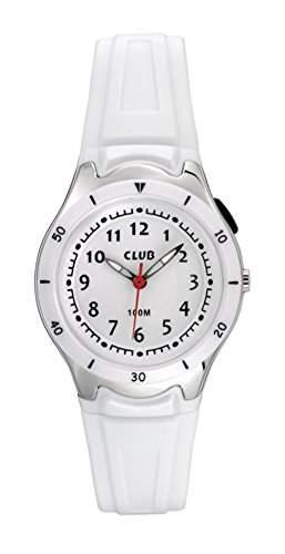 Club Maedchen - Armbanduhr Analog Quarz 10 bar Licht Silikonband A47103-H0A