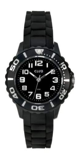 Club Maedchen - Armbanduhr Analog Quarz Silikon schwarz A65163SS5A