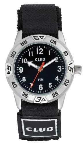 Club Kinder - Armbanduhr Analog Quarz Klettband 5 bar A65164S5A