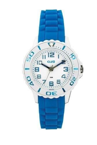 Club Maedchen-Armbanduhr Analog Quarz Silikon Blau 5 bar A65174-4H0A