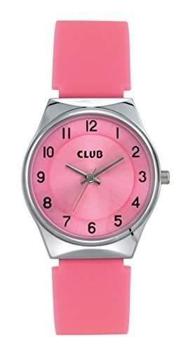 Club Maedchen-Armbanduhr Analog Quarz Silikon A65176S14A