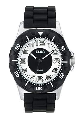 Club Jungen - Armbanduhr Analog Quarz 10 bar Silikonband A76152S4A