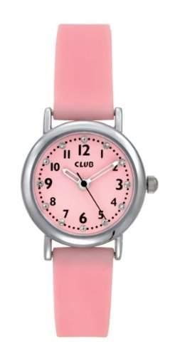 Club Maedchen - Armbanduhr Analog Quarz Silikon Rosa A56525S14A