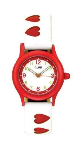 Club Maedchen Armbanduhr Analog Quarz Herz rot Maedchenuhr A56517R0A