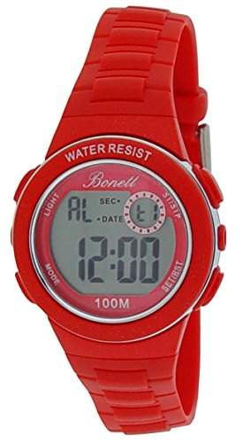 Bonett Maedchen - Armbanduhr Digital Quarz Silikon 10 bar 1224R