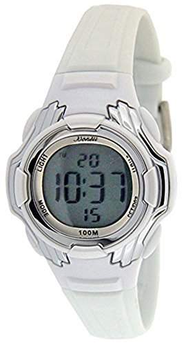 Bonett Kinder-Armbanduhr Digitaluhr Chronograph 1224H - 10 bar, Alarm, Licht, Kalender