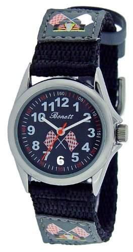 Bonett Jungen - Armbanduhr Analog Quarz 1268S - Nylonband