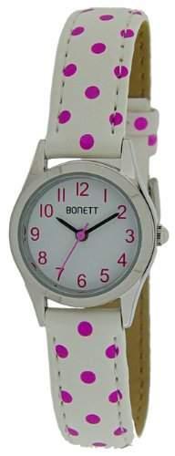 Bonett Maedchen - Armbanduhr Analog Quarz Punkte 1325H