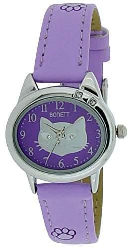 Bonett Maedchen - Armbanduhr Analug Quarz violett 1354L