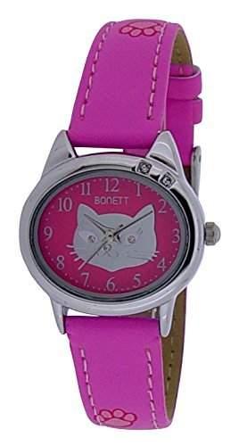 Bonett Maedchen - Armbanduhr Analug Quarz pink 1354P