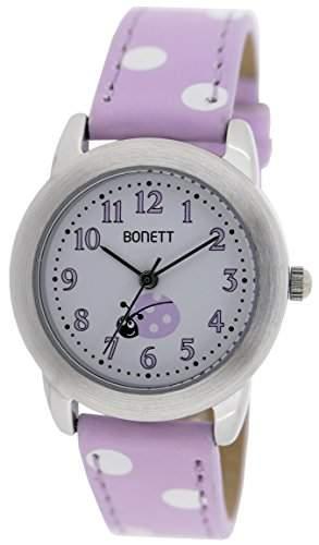 Bonett Maedchen - Armbanduhr Analog Quarz Punkte 1361L