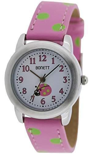 Bonett Maedchen - Armbanduhr Analog Quarz Punkte 1361P