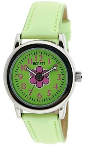 Bonett Maedchen - Armbanduhr Analog Quarz Punkte 1362G