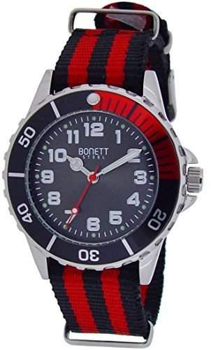 Bonett Jungen - Armbanduhr Analog Quarz Nylon 1372R