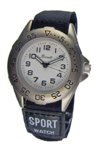 Bonett Jungen - Armbanduhr Analog Quarz 1222H - Klettband