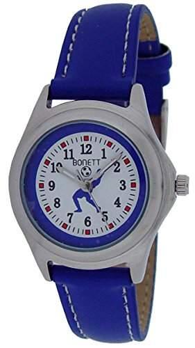Bonett Jungen - Armbanduhr Analog Quarz Fussball 1377B