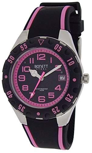 Bonett Maedchen - Armbanduhr Analog Quarz Silikon 10 bar 1287P