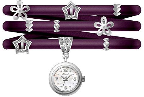 Bonett Damen Armbanduhr Wickeluhr Analog Quarz Leder 1334B
