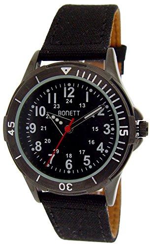 Bonett Jungen Armbanduhr Analog Quarz A65167 1SS5A
