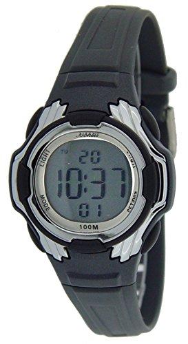 Bonett Jungen Armbanduhr Digital Alarm Licht Datum Stoppuhr 10 bar 1224S