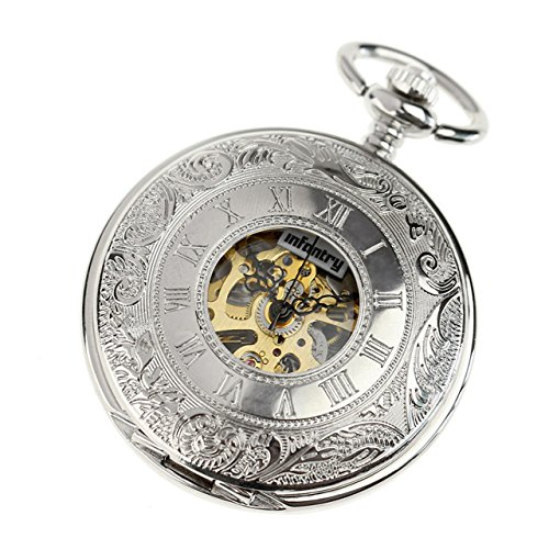 INFANTRY px 012 s Taschenuhr Armband aus Edelstahl Farbe Silber
