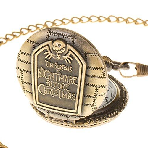 Pacifistor Herren Taschenuhr Quarz uhr modisch Edelstahluhr Bronze Kupfer