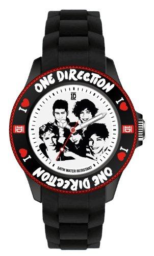 One Direction Armbanduhr Logo Black in 38 mm