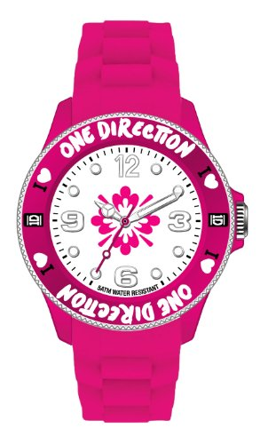 One Direction Armbanduhr Logo Pink in 38 mm
