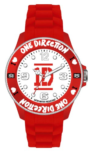 One Direction Armbanduhr Logo Red in 38 mm