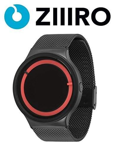 ZIIIRO Watch - Eclipse Metallic - BlackRed