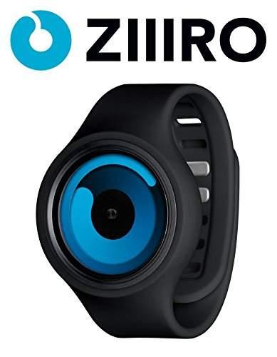 Ziiiro Gravity Unisex Silikon  Edelstahl Watch Black - Ocean wechselbare Uhr