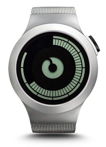 Ziiiro Saturn Chrome Design Digital Uhr