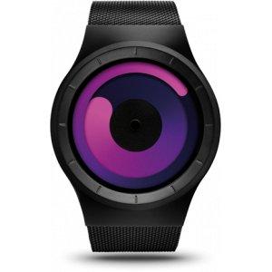Ziiiro Unisexuhr Mercury Black Purple Z0002WB3
