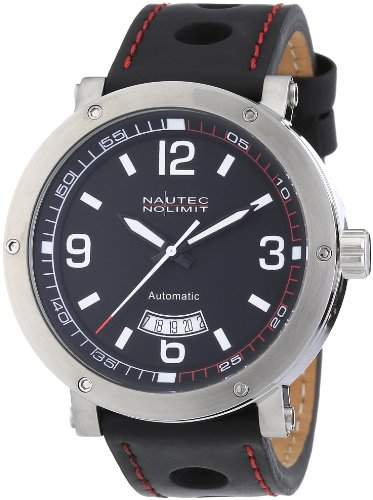 Nautec No Limit Herren-Armbanduhr Shamal SM ATLTSTBK-RD