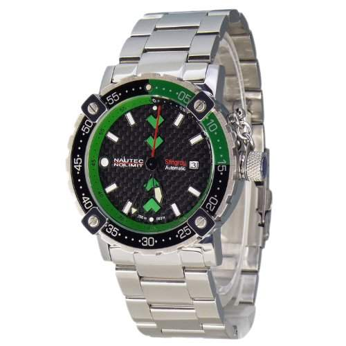 Nautec No Limit Herren-Armbanduhr Stingray ST ATSTSTGRCA