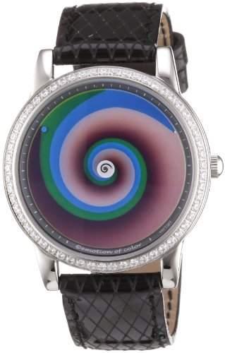 Rainbow e-motion of color Damen-Armbanduhr Avangardia crystal vertigo AV21A-LB-ve