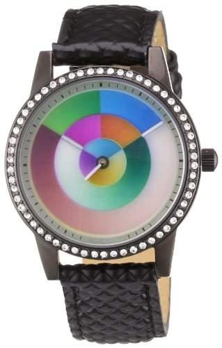 Rainbow e-motion of color Damen-Armbanduhr Avantgardia hurry Analog Quarz AV21PB-LB2-hu