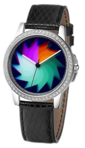 Rainbow e-motion of color Damen-Armbanduhr Quarz Analog AV21A-LB-sa