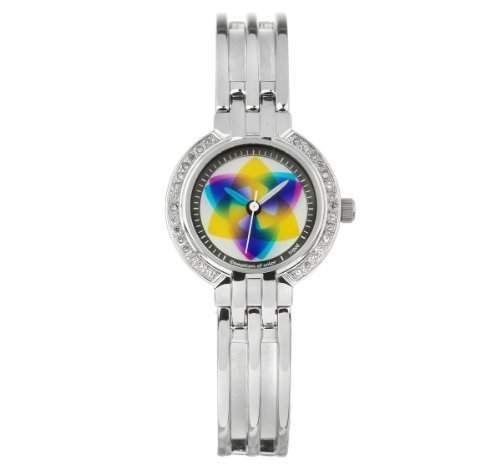 Rainbow e-motion of color Damen-Armbanduhr XS Doreen tripod Analog Edelstahl DA27-NO-tr