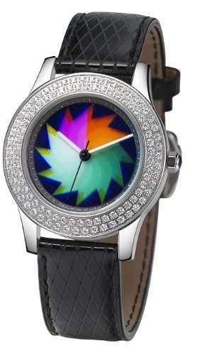 Rainbow e-motion of color Damen-Armbanduhr Elegancia crystal saw EL47A-LB-sa