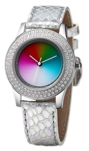 Rainbow e-motion of color Damen-Armbanduhr Quarz Analog EL47A-SS-ga